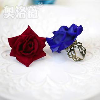 アリスアンドザパイレーツ(ALICE and the PIRATES)の薔薇の指輪♡ゆめかわいい♡病みかわいい♡ゴシック♡乃木坂♡欅坂♡バラ♡(リング(指輪))