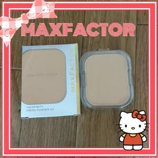 マックスファクター(MAXFACTOR)のフェイスフィニティ フレッシュパウダーUV(ファンデーション)