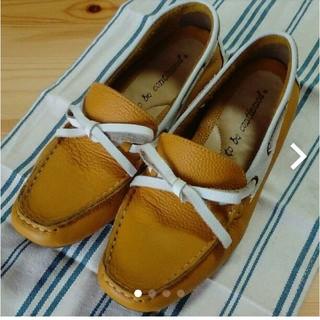 マスタードローファ(ローファー/革靴)