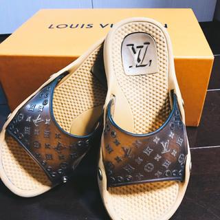 ルイヴィトン(LOUIS VUITTON)のルイヴィトン サンダル Louis Vuitton ビーチサンダル 訳あり(サンダル)