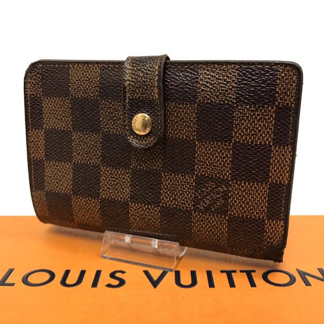 LOUIS VUITTON - ルイ ヴィトン ダミエ 財布 折り財布 がま口 金具 使いやすい おすすめ ❣️の通販 by はな|ルイヴィトンならラクマ