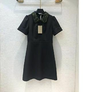 ヌメロヴェントゥーノ(N°21)のN°21ワンピース美品大人気綺麗19ss黒(ひざ丈ワンピース)