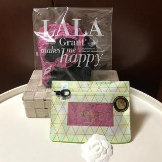 LALA ブラジャー&レーシーショーツ 新品未使用未開封☆最新パッケージ(ブラ)