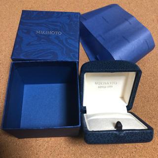 ミキモト(MIKIMOTO)のミキモト MIKIMOTO 指輪 ケース 外箱 包装紙 A(その他)