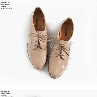 ディーホリック(dholic)のエナメル調オックスフォードシューズ (ローファー/革靴)