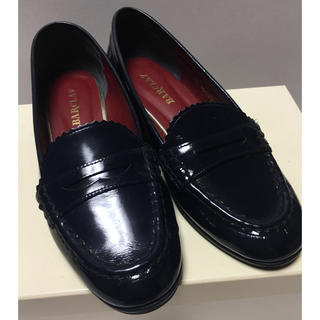 バークレー(BARCLAY)の値下げ★ローファー ネイビー(ローファー/革靴)
