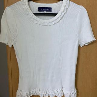 エムズグレイシー(M'S GRACY)のエムズグレーシー 半袖  中古  Lサイズ(Tシャツ/カットソー(半袖/袖なし))