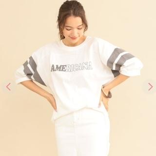 アメリカーナ(AMERICANA)のアメリカーナ☆アローズ別注★フットボールTシャツ(Tシャツ(長袖/七分))