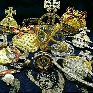 ヴィヴィアンウエストウッド(Vivienne Westwood)の初期シリーズ ビンテージアイテム グラスカットオーブリング ヴィヴィアン(リング(指輪))