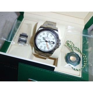 ロレックス(ROLEX)のブルー78さま専用!ロレックス★エクスプローラー2★216570(腕時計(アナログ))