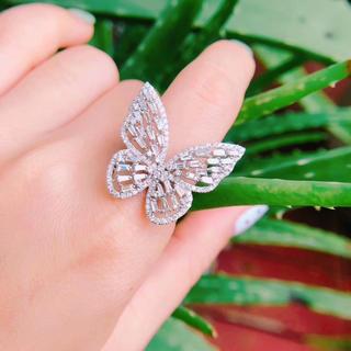big蝶ダイヤモンド指輪(リング(指輪))