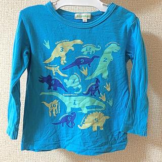 サンカンシオン(3can4on)の3can4on☆恐竜プリントカットソー90(Tシャツ/カットソー)