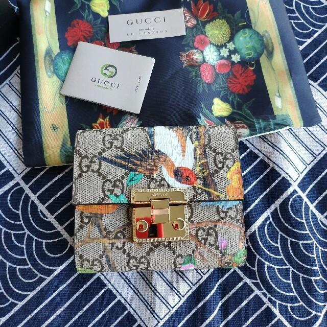 Gucci - Gucci折り畳み財布の通販 by アツエfour11's shop|グッチならラクマ