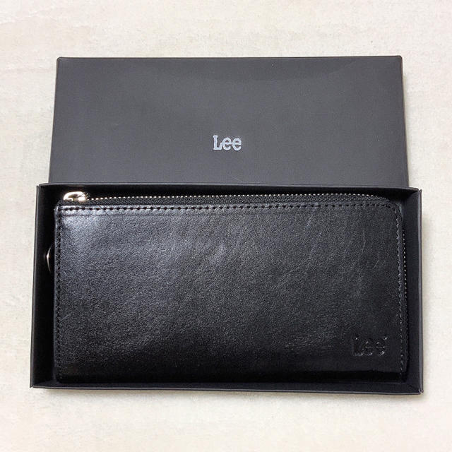 Lee - LEE リー 高級イタリアンレザー 長財布 ラウンドファスナーリアルレザー の通販 by cosmo|リーならラクマ