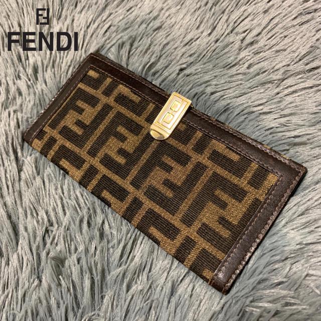 ブランドバッグスカーフ,FENDI-【人気商品】Fendiビンテージズッカ長財布の通販byToruShop|フェンディならラクマ