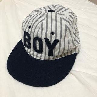 トゥデイフル(TODAYFUL)のTODAYFUL Stripe BOY cap(キャップ)