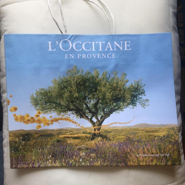 L'OCCITANE(ロクシタン)のロクシタン ショップ袋 Mサイズ (A4より少し小さいくらいです) レディースのバッグ(ショップ袋)の商品写真