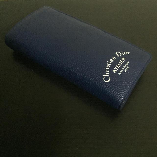 Christian Dior - ディオール アトリエ 財布 青の通販 by SUN|クリスチャンディオールならラクマ