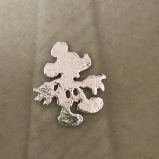 ディズニー(Disney)のミッキーマウス ネクタイピン シルバー ミッキー シルエット(ネクタイピン)
