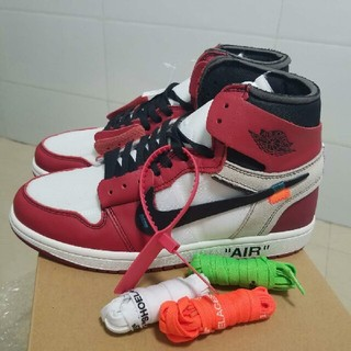 ナイキ(NIKE)のNIKE Off-White THE TEN AIR JORDAN 1 ナイキ(スニーカー)
