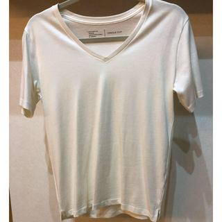 オペークドットクリップ(OPAQUE.CLIP)のVネックTシャツ 新品未使用(Tシャツ(半袖/袖なし))