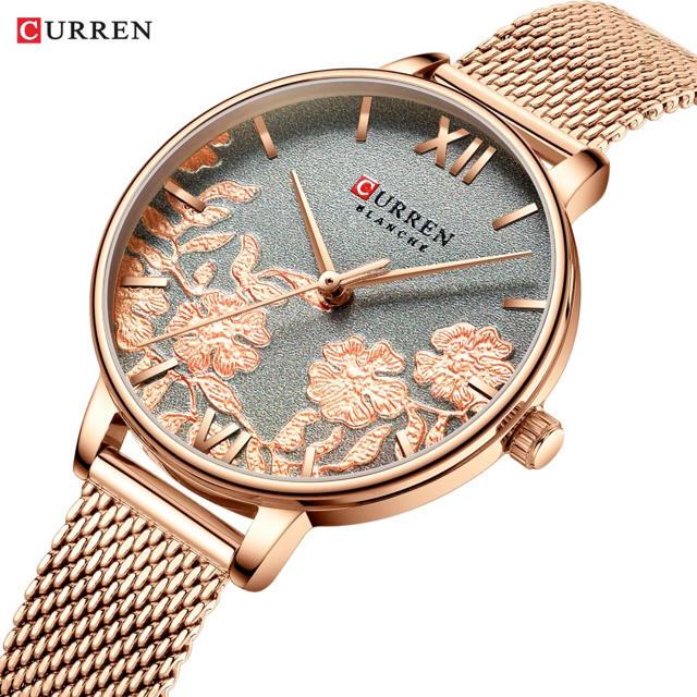 時計 コピー 代引き - curren レディース クォーツ 腕時計の通販 by NARIZ-CONPANY|ラクマ