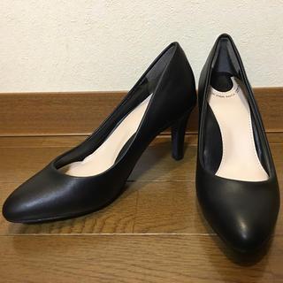 ランダ(RANDA)のRANDA♡COTTON STEPS♡走れる美脚パンプス 黒♡小さいサイズ(ハイヒール/パンプス)