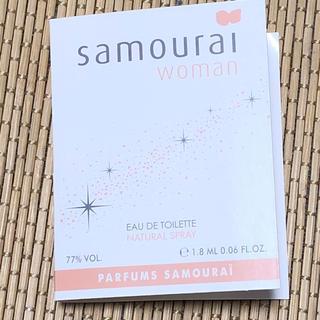 サムライ(SAMOURAI)のサムライウーマン★オーデトワレ★ミニ香水 (香水(女性用))