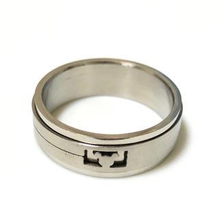 同時購入で300円 ステンレス指輪 ミッキー(リング(指輪))