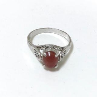 ビンテージ リング 赤 指輪(リング(指輪))