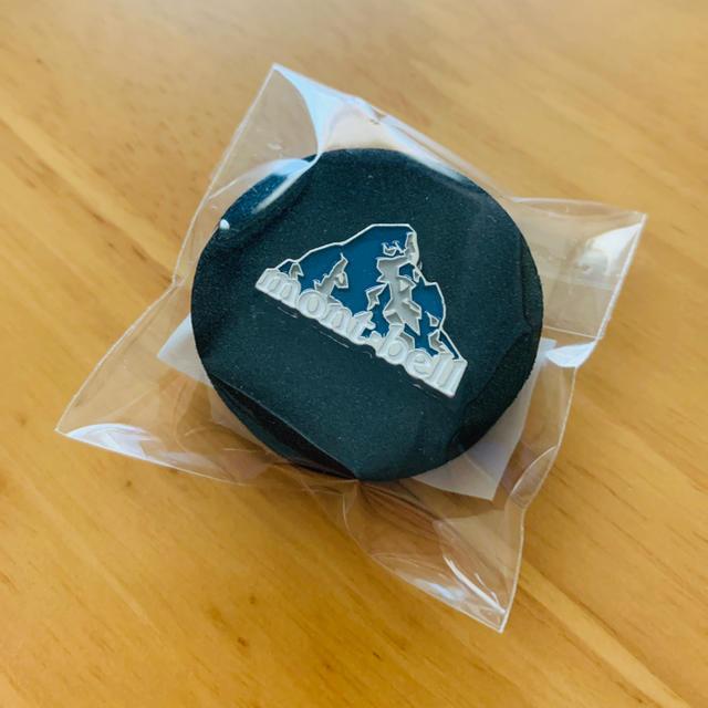 mont bell(モンベル)のモンベルmont-bell ピンバッチ 会員限定 エンタメ/ホビーのコレクション(ノベルティグッズ)の商品写真