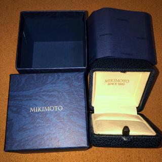 ミキモト(MIKIMOTO)のミキモト MIKIMOTO 指輪 ケース 外箱 包装紙 B(その他)