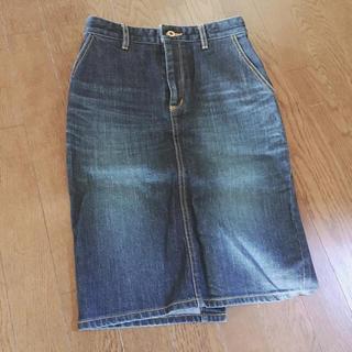 ビューティアンドユースユナイテッドアローズ(BEAUTY&YOUTH UNITED ARROWS)のデニムタイトスカート(ひざ丈スカート)