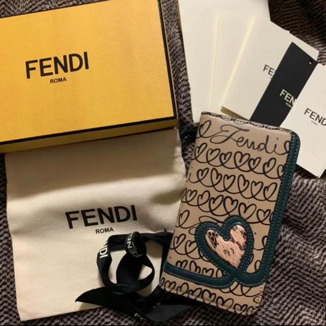 FENDI - 期間限定 最終値下 FENDI フェンディ iPhonex ケース カバーの通販