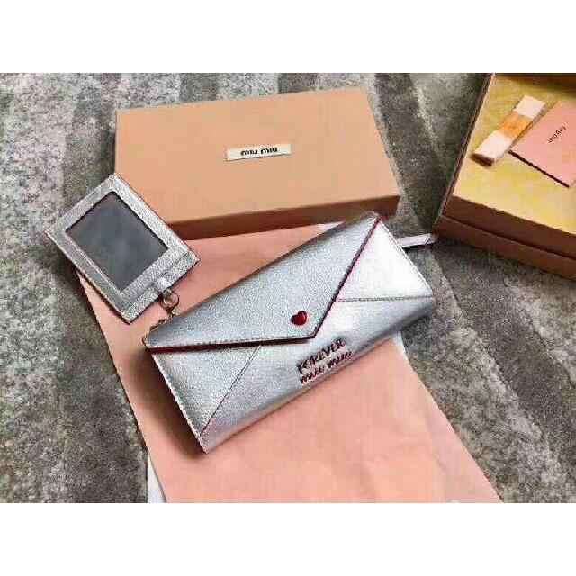 miumiu - miumiu長財布 の通販 by ニヒミ's shop|ミュウミュウならラクマ