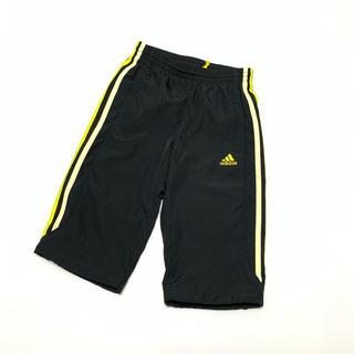 アディダス(adidas)のアディダス adidas ハーフパンツ 120cm 黒 黄色(パンツ/スパッツ)