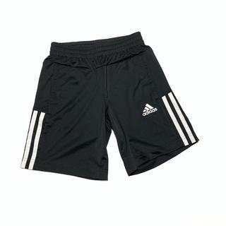 adidas - アディダス adidas ハーフパンツ ショートパンツ 130cm 黒 白