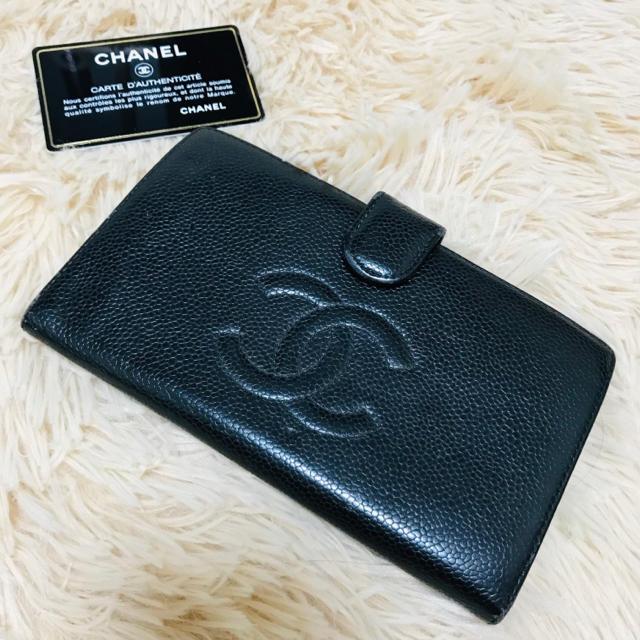 79174g 定価 偽物 - CHANEL - ♡正規品♡ CHANEL キャビアスキン 長財布 ブラックの通販 by CLEAR E'CLAT|シャネルならラクマ