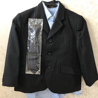 ニッセン(ニッセン)のキッズスーツ120 4点セット ほぼ新品です!(ドレス/フォーマル)
