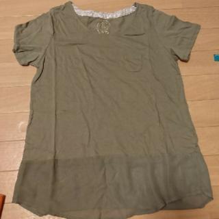 イッカ(ikka)のikka シースルー トップス(Tシャツ(半袖/袖なし))