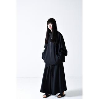 ヨウジヤマモト(Yohji Yamamoto)の bishool wool gabardine 70 zip jacket(ブルゾン)