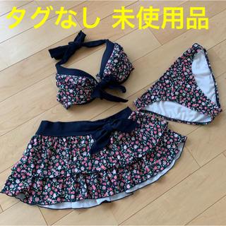 シマムラ(しまむら)の水着 ビキニ  花柄3点セット(水着)