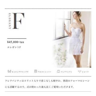 セモアブライダルインナー エレガントF 4点セット 結婚式 ウェディングドレス(ブライダルインナー)