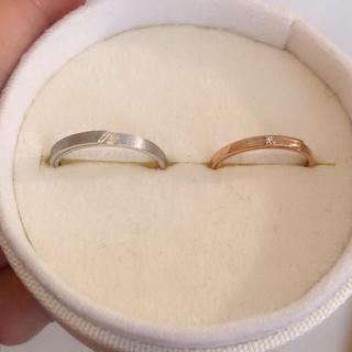 ポンテヴェキオ(PonteVecchio)の新品未使用 ホワイトゴールド ペアー販売可能!連休セール‼️(リング(指輪))