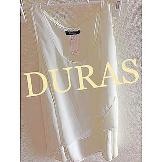 DURAS - DURAS     アンビエント    シフォン トップス