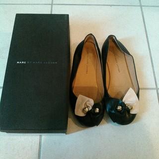 マークバイマークジェイコブス(MARC BY MARC JACOBS)のマークジェイコブス フラットシューズ(ローファー/革靴)