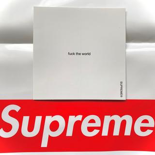 シュプリーム(Supreme)のsupreme シュプリーム ステッカー fuck the world(Tシャツ/カットソー(半袖/袖なし))