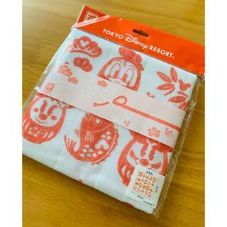 ディズニー(Disney)のお正月に ディズニーリゾート 布巾(収納/キッチン雑貨)
