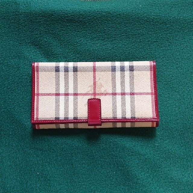 BURBERRY - 美品‼️ バーバリーの長財布 未使用保管品の通販 by まさっぷ's shop|バーバリーならラクマ