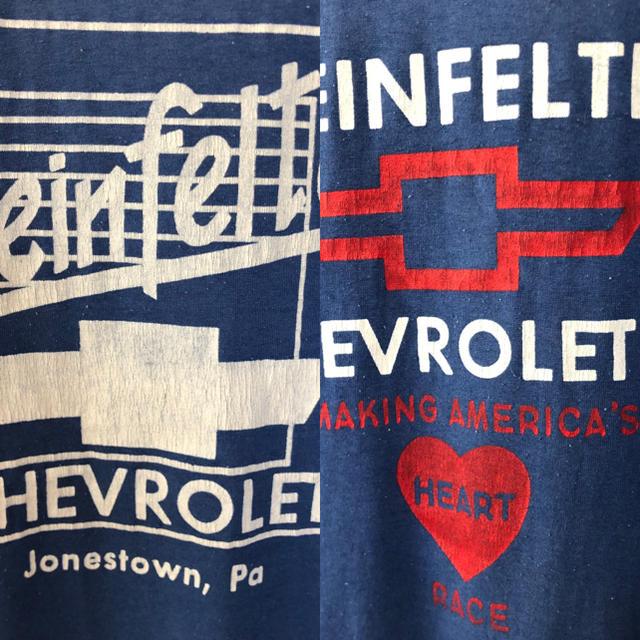 Chevrolet(シボレー)の激レア☆ヴィンテージ Tシャツ☆シボレー 自動車/バイクの自動車(その他)の商品写真